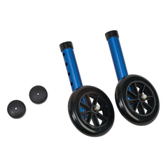 Healthsmart: DMI Walker Wheels With Glide Cap Kits - 510-1005-0145 - Actual Image