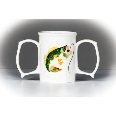 Granny Jo Products: Dignity Mug Painted with 2 extra-large handles