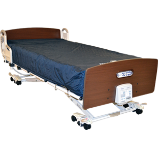 Joerns: DolphinCare Integrated Bed System - DLPB-XTACUL-B - Front View
