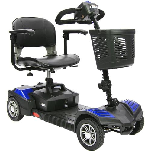 Drive Medical: Spitfire Scout 4 Extended Range mobility scooter - Mobility Scooters Store