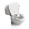 "Image of Bemis Independence: ""Open Wall"" 3"" Elevated Toilet Seat With Open Front Ring - BEM-7YR82350TC 000"