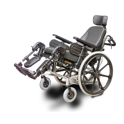 EV Rider: SPRING Lightweight Manual Wheelchair Aluminum Frame - HW1 -side