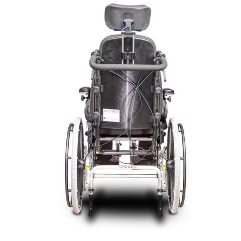 EV Rider: SPRING Lightweight Manual Wheelchair Aluminum Frame - HW1 - back-view