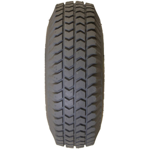 "New Solutions: 10 X 3"" (260-85)(3.00-4) Knobby Tire Fits Most - Wide - F058 - Grip View"