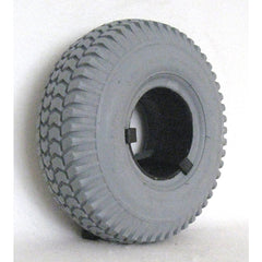 "New Solutions: 10 X 3"" (260-85)(3.00-4) Knobby Tire Fits Most - Wide - F058"