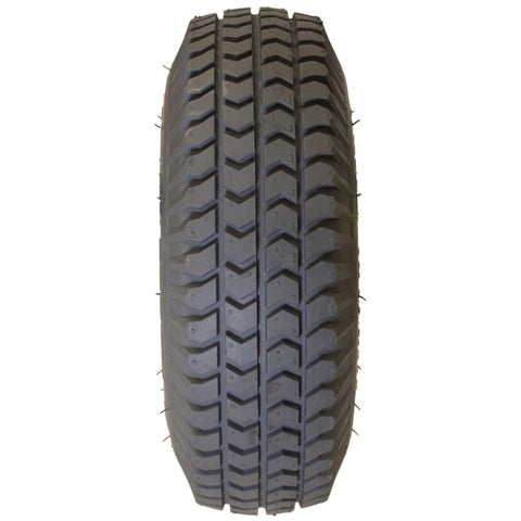 "New Solutions: 10 X 3"" (260-85)(3.00-4) Knobby Tire Fits Most - F059  - Grip View"