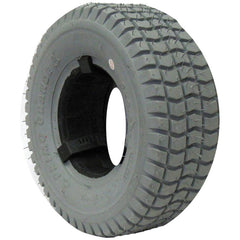 "New Solutions: 9 X 3.50-4 (8 1/2 x 3 1/4"") Knobby Tire Fits Most - F060"