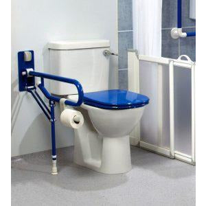 Arc First: Fold Up Support, with Adjustable Leg, Blue - 01830-BU- Actual Image