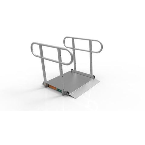 Ez-Access: GATEWAY 3G Ramp with Two-line Handrails