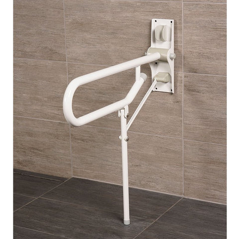 Arc First: Fold Up Support, Non Adjustable Legs, White - 01820-WH - Right View