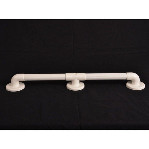 "Arc First: 24"" Straight Grab Bar, White - 01920-WH - Actual View"