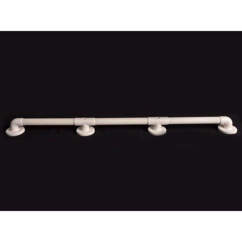 "Arc First: 42"" Straight Grab Bar, White - 01950-WH - Actual View"
