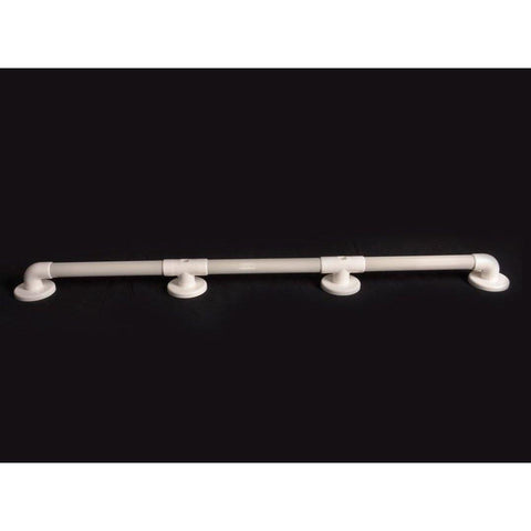 "Arc First: 42"" Straight Grab Bar, Gray - 01950-GR - Actual View"