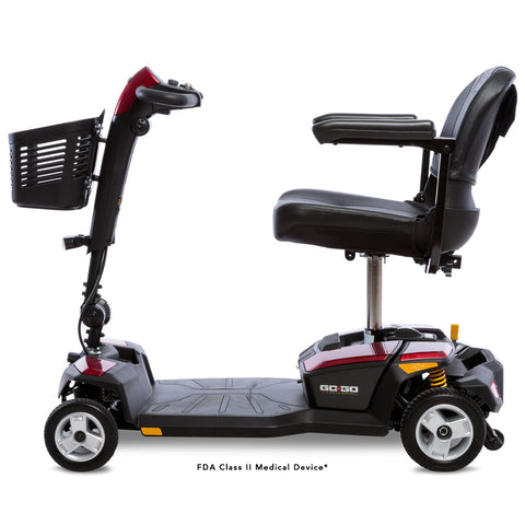 Pride Mobility: GO-GO® LX with CTS Suspension 4-Wheel - SC54LX