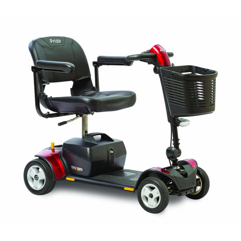 Pride Mobility: Go-Go Elite Plus Traveler 4 Wheel Scooter-Pride Mobility-Scooters 'N Chairs