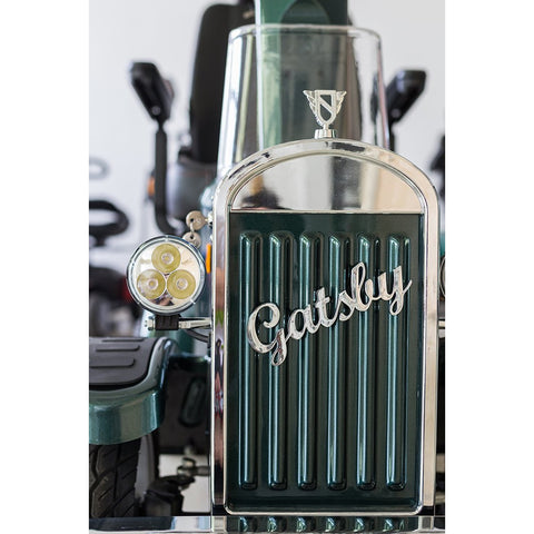 Vintage Vehicles: Gatsby Mobility Scooter - Front View