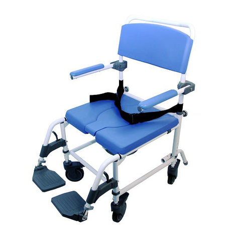 Healthline Medical: Aluminum Shower Commode Chair