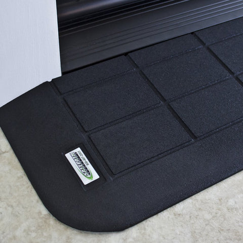 "SAFEPATH Products: EZ Edge Recycled Rubber Threshold Ramp (1"" Height)"