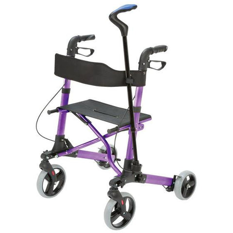 Healthsmart: Gateway Aluminum Rollator - 501-5012-1110 - with Cane