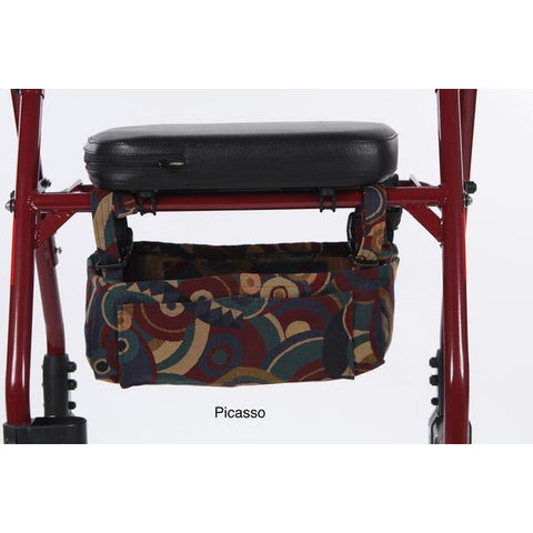 Granny Jo Products: Underseat Rollator Bag - Picassor Color