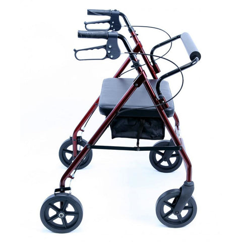 Karman Healthcare: Walker Rollator - R-4800 side view