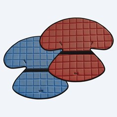 ETAC: Scallop - 53974 - Cushions View in Red & Blue Color