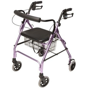 Graham Field: Lumex Walkabout Lite Four-Wheel Rollator - RJ4300P