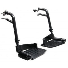 Graham Field:  LUMEX Footrest with Composite Footplate-Pair - 90763030