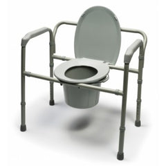 Graham Field: Lumex Bariatric Steel Folding Commode - 7109A-2