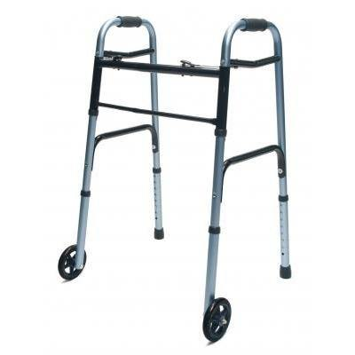Graham Field: Lumex ColorSelect Adult Walker with Wheels - 716270B-2