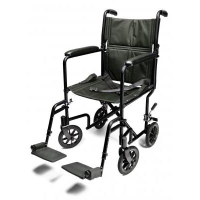 Graham Field: Everest & Jennings Lightweight Aluminum Transport Wheelchair - EJ781-1 - EJ791-1