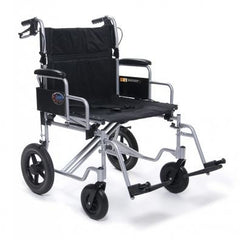 Graham Field: Everest & Jennings BARIATRIC ALUMINUM TRANSPORT  Wheelchair - EJ781-1 - EJ791-1