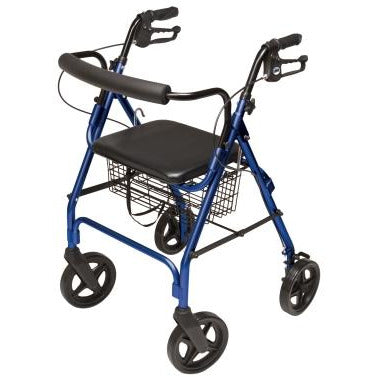 Graham Field: Lumex Walkabout Four-Wheel Contour Deluxe Rollator - RJ4805L