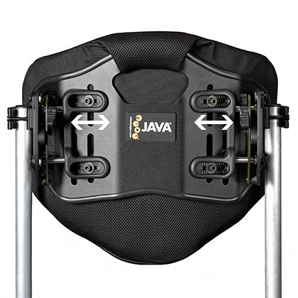 Ride Designs: Java Back for Wheelchairs