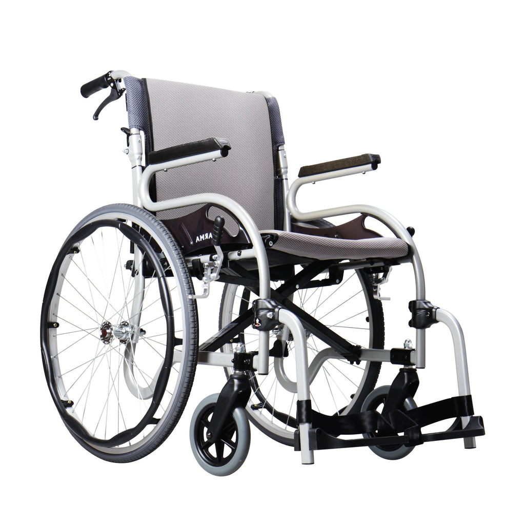 Karman Healthcare : Star Two - Ultra Lightweight Wheelchair – KM1514 front view
