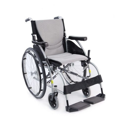Karman Healthcare : ERGO - Ultra Lightweight Wheelchair  – S-ERGO 105 front view