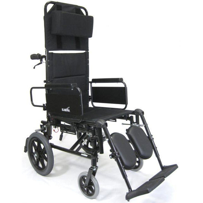 Karman Healthcare :Transport Wheelchairs – KM-5000-TP Front View