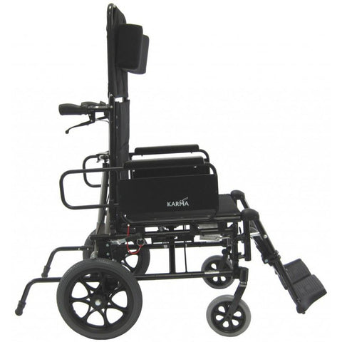 Karman Healthcare :Transport Wheelchairs – KM-5000-TP Side View