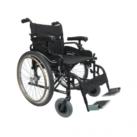 Karman Healthcare: Lightest Weight Bariatric Wheelchairs – KM-8520-22W Main view