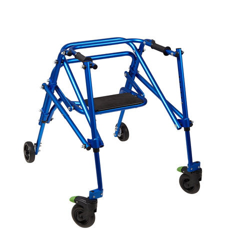 Circle Specialty: Walking Klip 4-Wheeled - W/Seat - KP530 - Blur Color