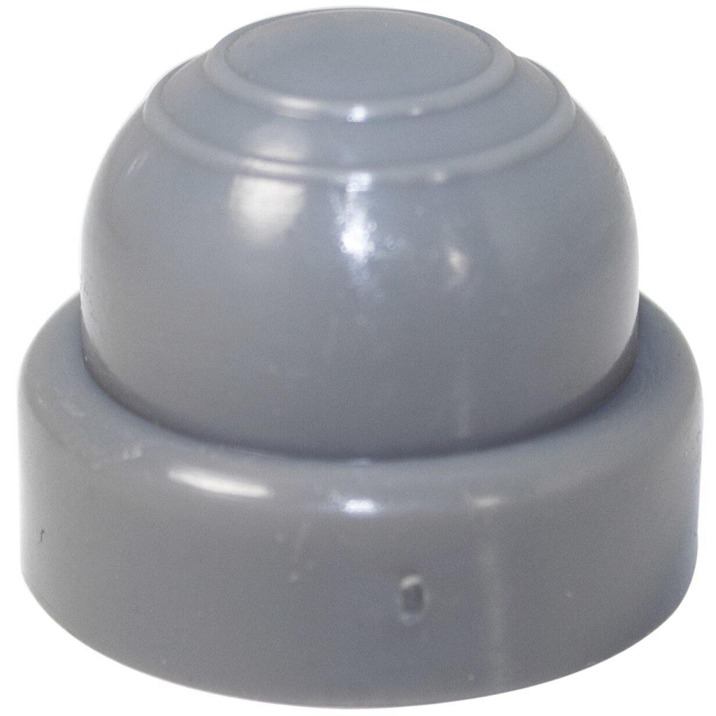New Solutions: Invacare Style Gray Plastic Dome Cap - M-099