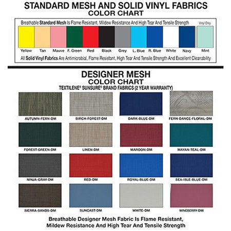 MJM International: Wide Walker - 421-3 - Color Chart