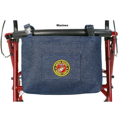Granny Jo Products: US Military Walker/Wheelchair/Scooter Bag - 1202 - Marine Color