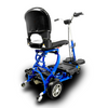 Image of EV Rider: MiniRider Folding Transportable Mobility Scooter - T3T Blue Back