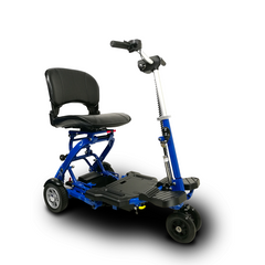 EV Rider: MiniRider Folding Transportable Mobility Scooter - T3T Blue Right
