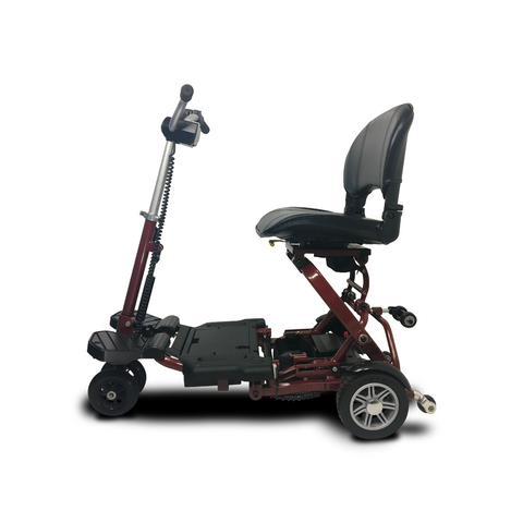EV Rider: MiniRider Folding Transportable Mobility Scooter - T3T Red