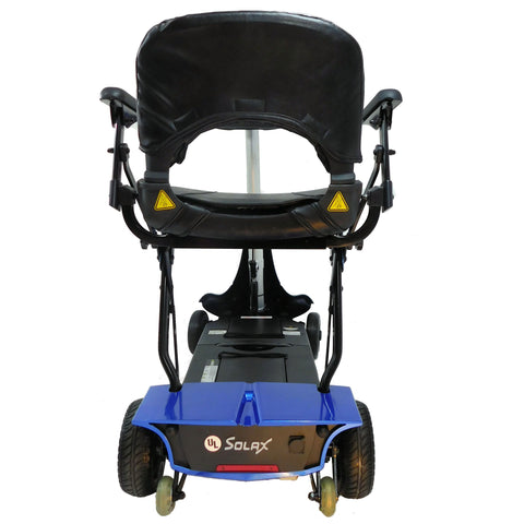 Enhance Mobility: Mobie Plus Scooter - S2043 - Blue Color - Back View