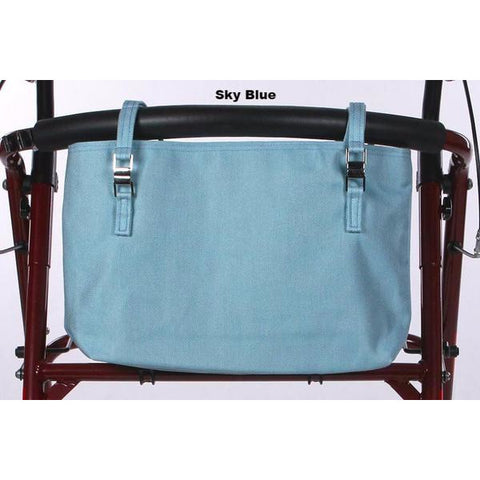 Granny Jo Products: Naples Walker Bag Collection - Sky Blue Pattern