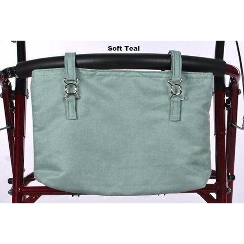 Granny Jo Products: Naples Walker Bag Collection - Soft Teal Pattern