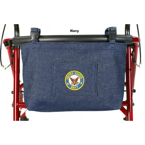 Granny Jo Products: US Military Walker/Wheelchair/Scooter Bag - 1202 - Navy Color